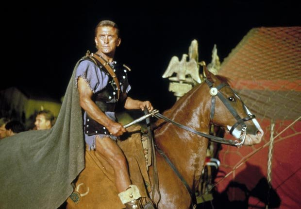 Spartacus (1960). Película protagonizada por Kirk Douglas. Películas de acción para los adultos.