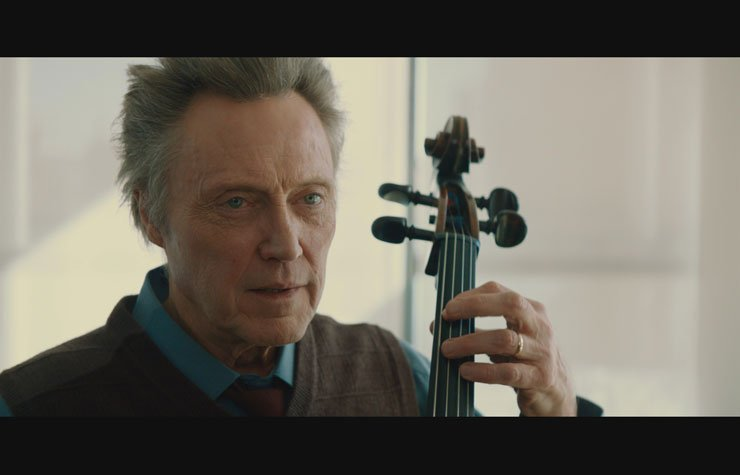 Christopher Walken plays instrument, A Late Quartet movie review