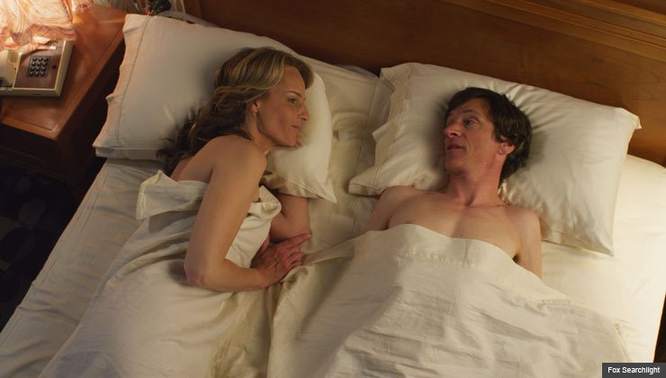 Helen Hunt and John Hawkes in the movie The Sessions.