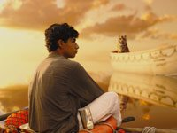 Actor Suraj Sharma in Ang Lee's Life of Pi
