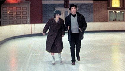 Talia Shire and Sylvester Stallone in Rocky, Thanksgiving movies