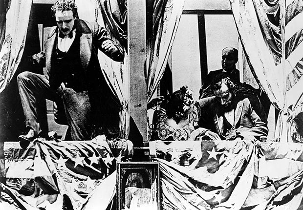 Joseph Henabery in Birth of a Nation, 1915, actors playing Lincoln