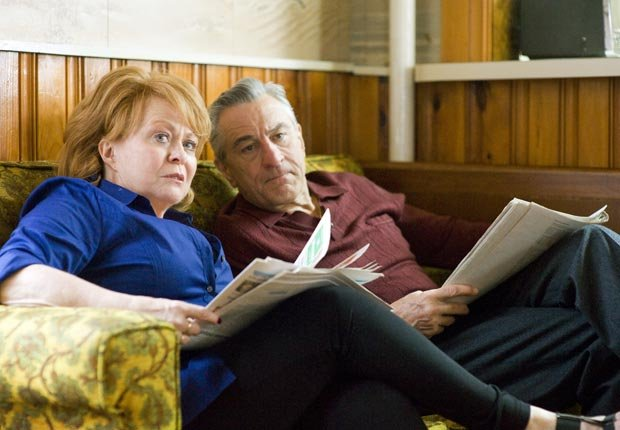 Jacki Weaver and Robert DeNiro in Silver Linings Playbook