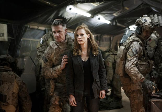 Jessica Chastain en la película Zero Dark Thirty - Las 10 mejores películas del 2012