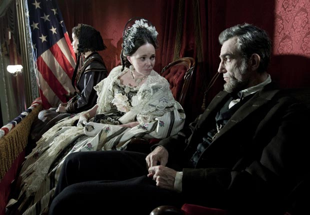 Sally Field and Daniel Day-Lewis in Lincoln.