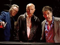 Christopher Walken, Alan Arkin and Al Pacino star in Stand Up Guys