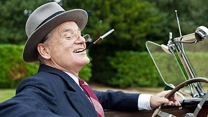 Bill Murray as Franklin D. Roosevelt in Hyde Park on Hudson