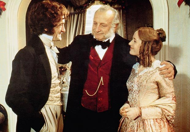 George C. Scott stars in A Christmas Carol, 1984.