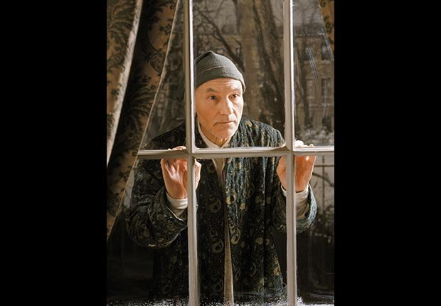 Patrick Stewart as Scrooge, 1999