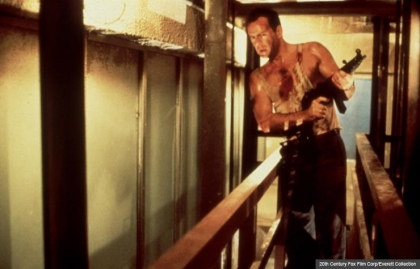 Bruce Willis in Die Hard, Holiday movies