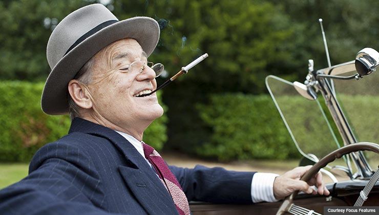 Bill Murray as Franklin D. Roosevelt in Hyde Park on Hudson