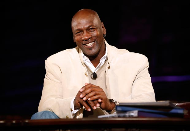 Michael Jordan as seen at Golf Channel's