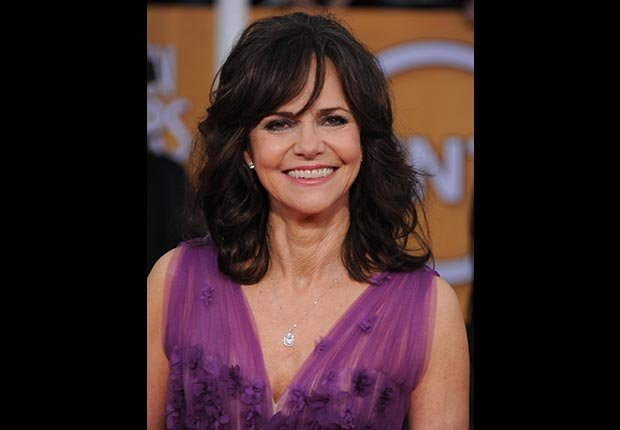 Sally Field on red carpet at Screen Actors Guild Awards 2013