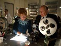 Helen Mirren y Anthony Hopkins en la película Hitchcock - Premios 2013 de AARP Movies for Grownups.