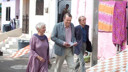 The Best Exotic Marigold Hotel - Mejor película - Premios 2013 de AARP Movies for Grownups.