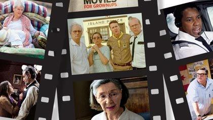 2013 Movies for Grownups Winners