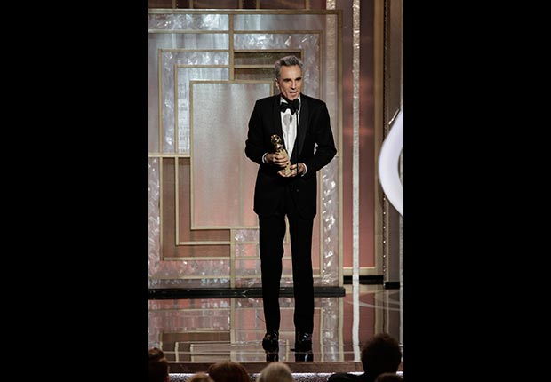 Actor Daniel Day-Lewis at the 70th Annual Golden Globe Awards
