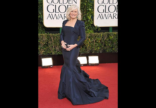 Actress Glenn Close at 70th Annual Golden Globe Awards