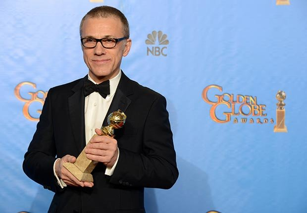 Christoph Waltz wins award for his performance in Django Unchained at 70th Annual Golden Globe Awards