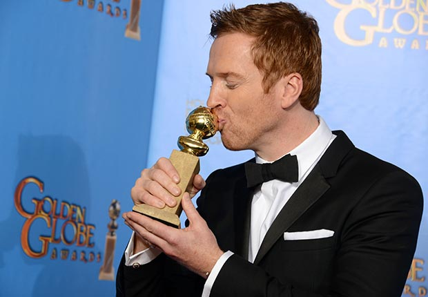 Actor Damian Lewis at 70th Annual Golden Globe Awards