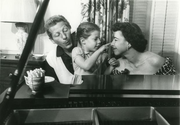 Danny Kaye and his family