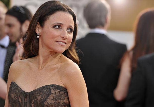 Actress Julia Louis-Dreyfus at 70th Annual Golden Globe Awards