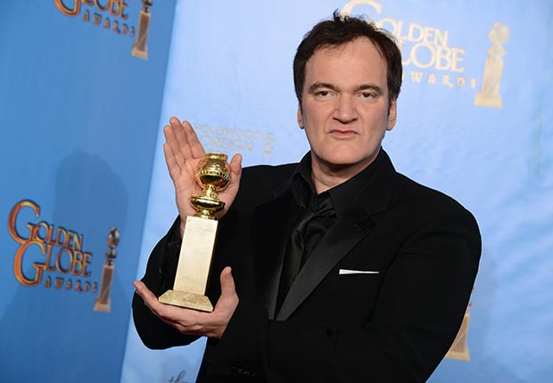Director Quentin Tarantino at 70th Annual Golden Globe Awards