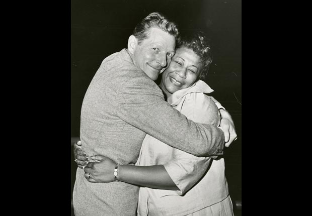 Danny Kaye and Ella Fitzgerald