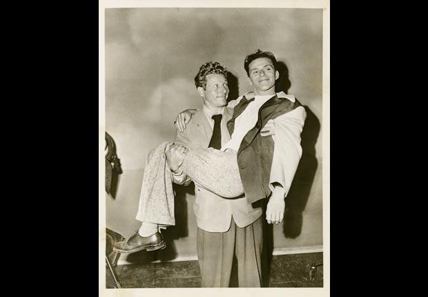 Danny Kaye and Frank Sinatra