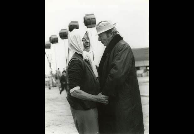 Danny Kaye and Katharine Hepburn