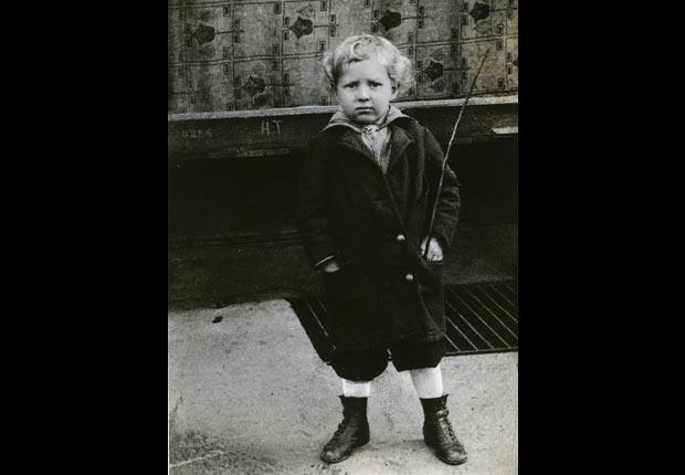 Danny Kaye as a young boy