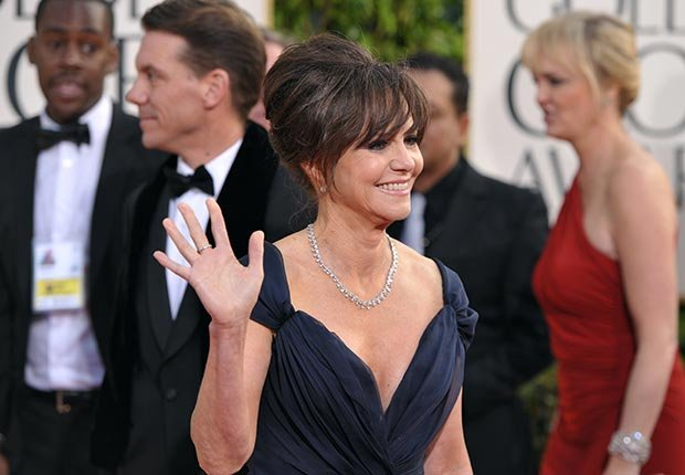 Actress Sally Field at 70th Annual Golden Globe Awards