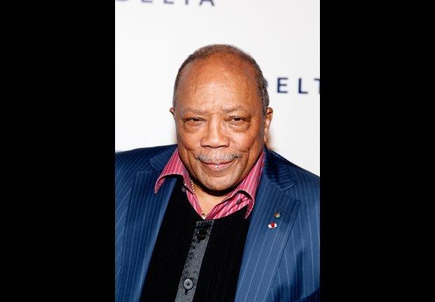 Quincy Jones - músico y compositor - Cumple años en marzo.
