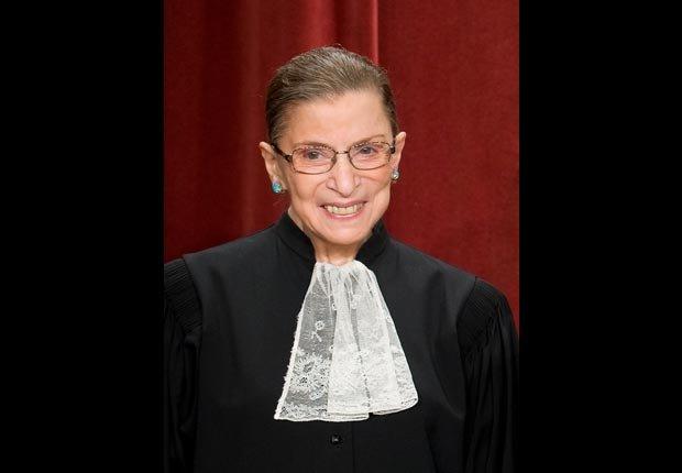 Ruth Bader Ginsburg - Jueza - Cumple años en marzo.