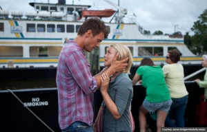 Josh Duhamel and Julianne Hough in Safe Haven.