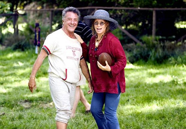 Dustin Hoffman y Barbra Streisand en la película Meet the Fockers en 2004