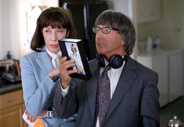Dustin Hoffman y Lily Tomlin en la película I (Heart) Huckabees en 2004