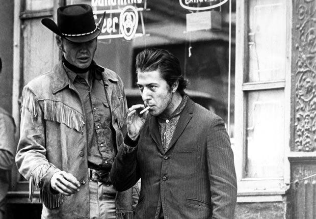 Dustin Hoffman en la película Midnight Cowboy en 1969