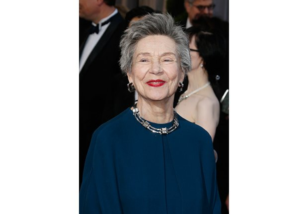 Actress Emmanuelle Riva arrives at the Oscars