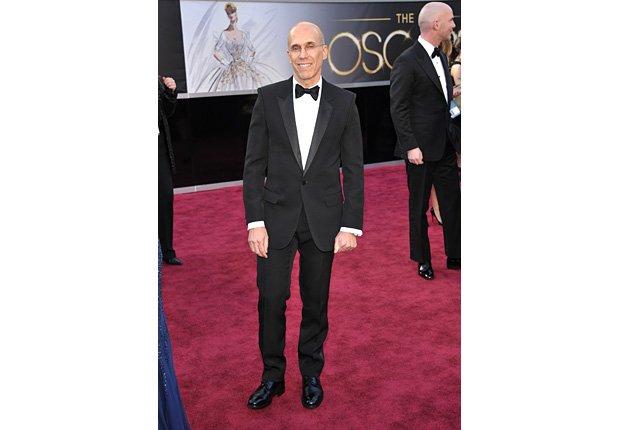Productor Jeffrey Katzenberg -  Alfombra roja Oscar 2013.