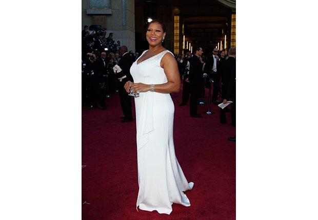 Queen Latifah - Alfombra roja Oscar 2013.
