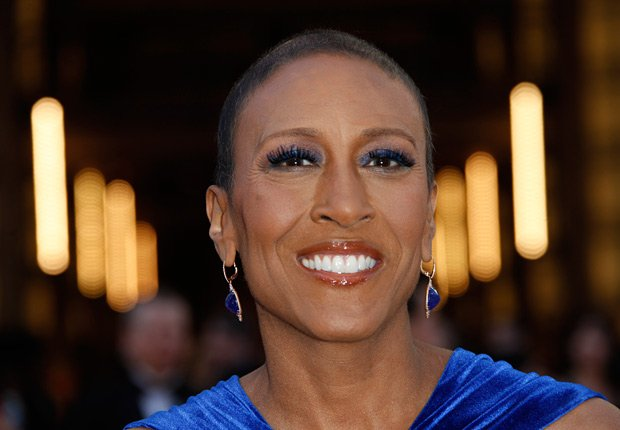 Robin Roberts arrives at the 85th Academy Awards