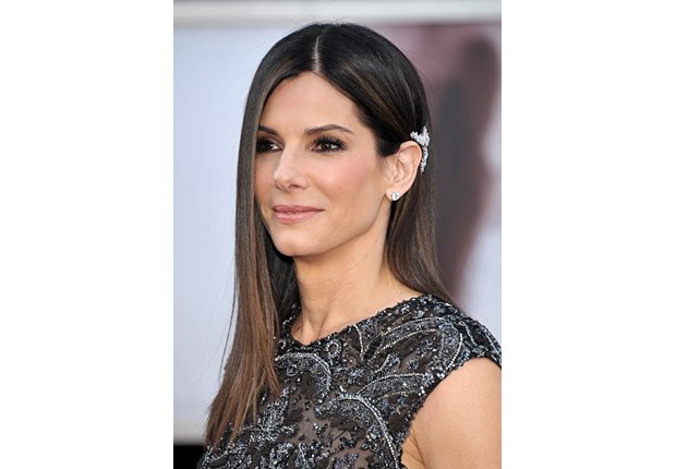 Actress Sandra Bullock arrives at the Oscars