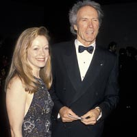 Frances Fisher and Clint Eastwood