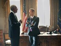 movie review olympus has fallen freeman president white house thriller