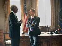 movie review olympus has fallen freeman president white house thriller