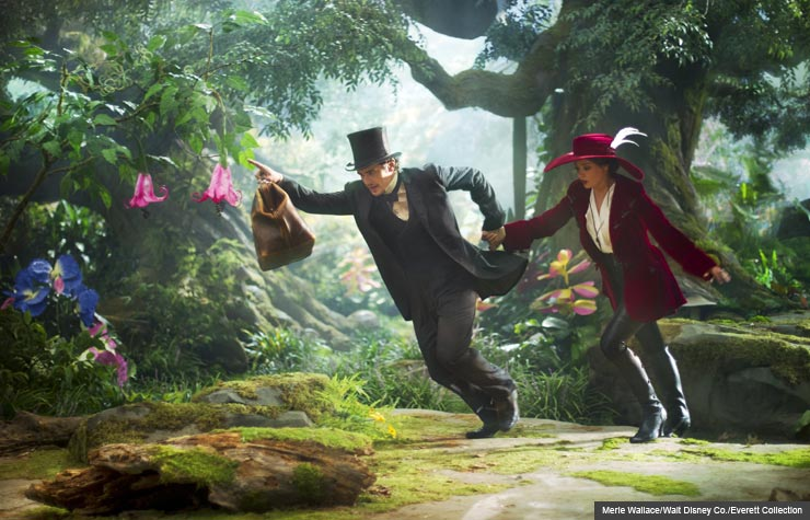 James Franco Stars in Disney's Prequel 'Oz the Great and ... Oz The Great And Powerful Cast Members