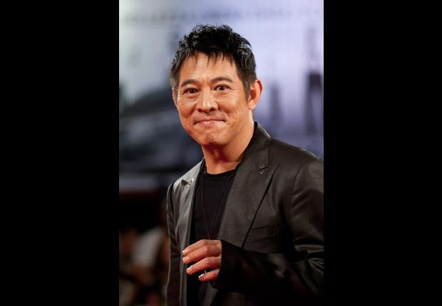 Actor Jet Li on the red carpet, April milestone