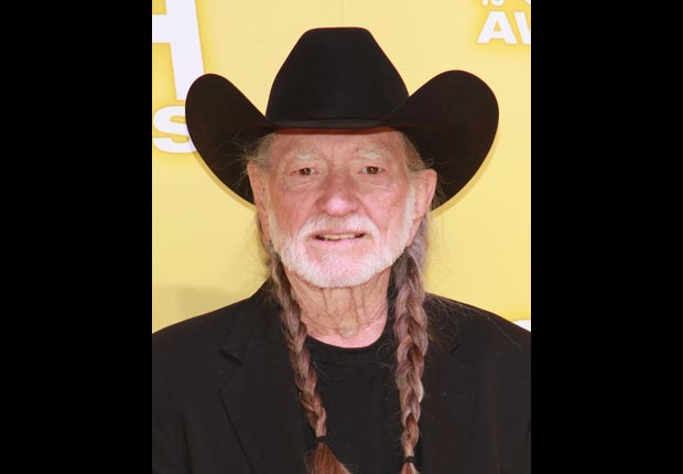Country singer Willie Nelson,  April Milestone