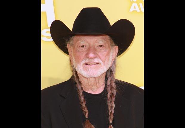 Country singer Willie Nelson,  April Milestone